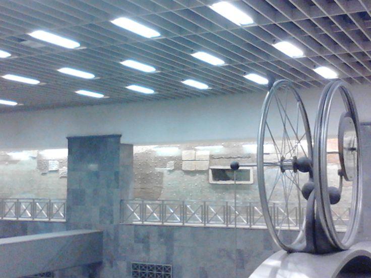 Athenian Metro. Syntagma Square station