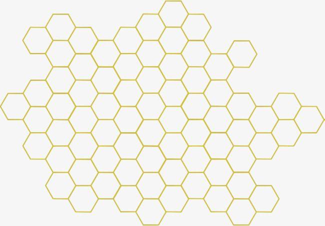 Geometric Honeycomb, Honey, Bee, Sweet PNG Transparent ...