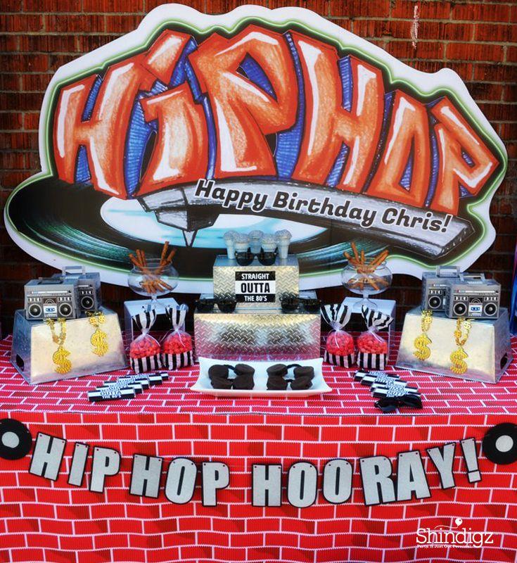 Hip Hop Party Theme Decorations