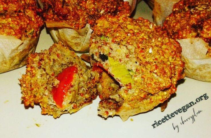 Muffins Salati di Miglio e Lenticchie. La ricetta qui: http://ift.tt/2bLkSF9  #vegan #veganfood  #vegano #veganfoodporn #vegetarian #vegansofinstagram #veganfoodshare #crueltyfree #veganism #ricettevegane #ricette #ricettevegan #ricettepervegani #govegan #miglio #lenticchie #muffins #muffinsalati