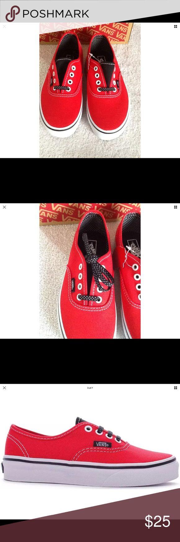 Girls Vans Authentic Polka Dot shoes Vans Authentic Polka Dot Shoes Vans Shoes Sneakers