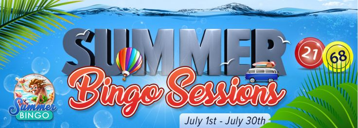Enjoy CyberBingo in July with $1,000's in fabulous cash prizes to be won between 8:00PM EDT and 9:00PM EDT every Saturday and Sunday. Card cost of only $0.75 a card and an amazing Buy 3 Get 2 Free offer #onlinebingo #bingooffer #cyberbingo #bingo