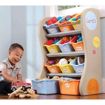 Step2 Fun Time Room Toy Organizer & Reviews | Wayfair Supply