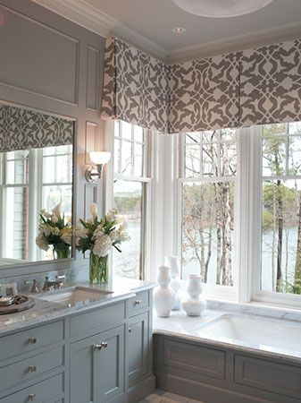 How can you incorporate a valance into window treatments?