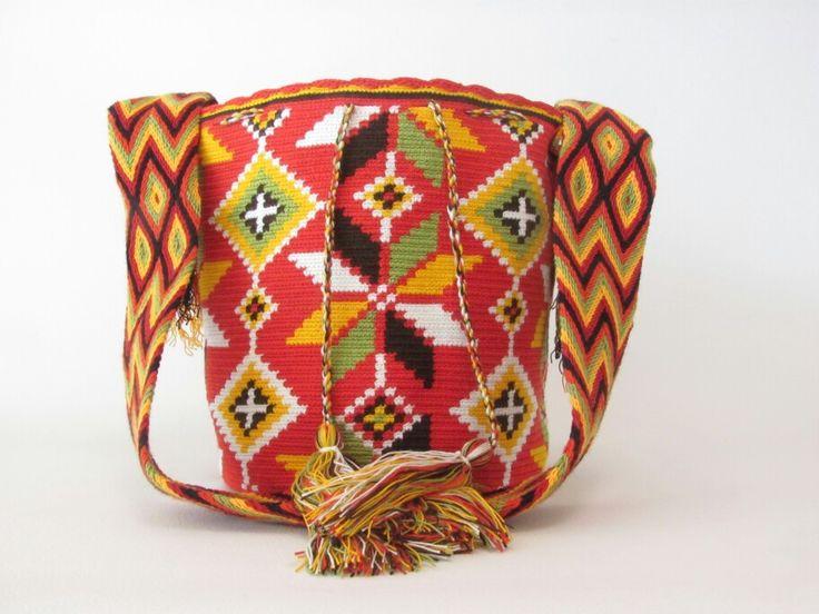 Mochila wayuu100% artesania colombiana