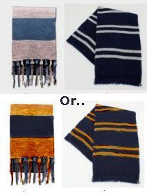 Here you will find a free pattern and instructions to crochet, knit, or felt a Ravenclaw house scarf.