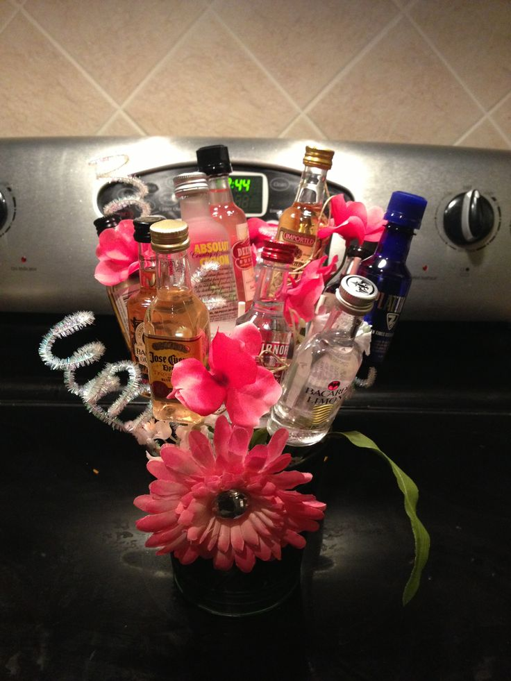 For me, this bouquet should only include vodka, Bailey's, Amaretto, and more vodka.