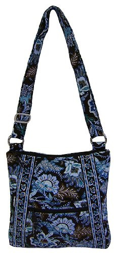 Vera Bradley New Style Cross Body Hipster in Java Blue $58.99