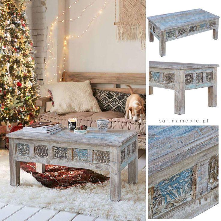Przed Świętami chętniej myślimy o zmianach w wystroju mieszkania, nowy stolik pod choinkę to jest coś ... :-)