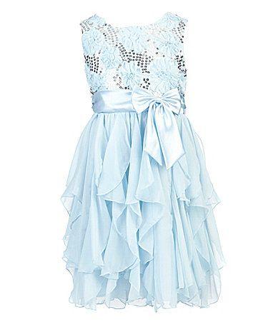 American Princess 716 SequinEmbellishedBodice Dress #Dillards Gracie's Easter dress