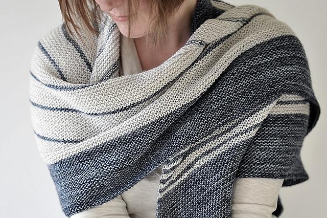 splendide , knitted scarf/throw
