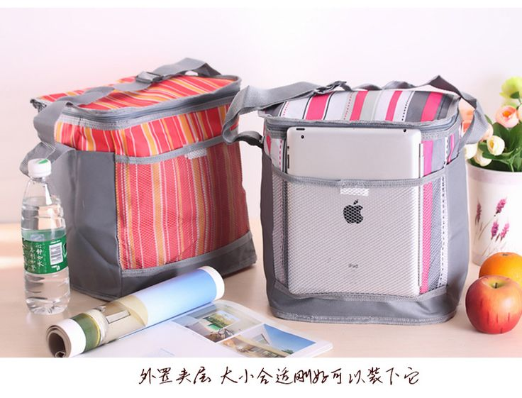 Lunch Carry Storage Women portable shouder insulated lunch bag box thermal picnic cooler bag food travel foldable bag for women