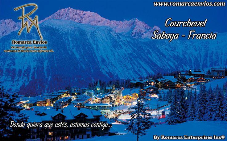 Courchevel,es unaestación de esquísituada en losAlpesfranceses, en elvalle de Tarentaise,Saboya, región deRhône-Alpes. Forma parte deLes Trois Vallées(Los Tres Valles, en español), el dominio esquiable más grande del mundo, con más de 600 kilómetros de pistas de esquí conectadas entre sí.