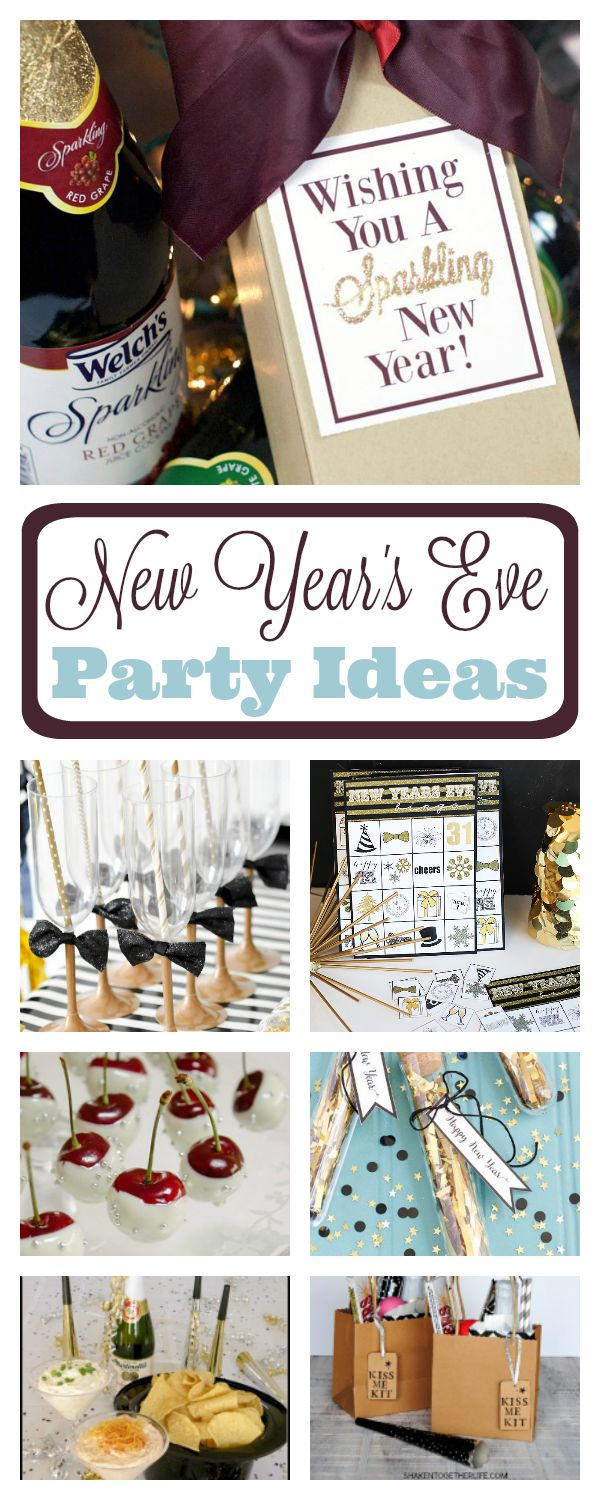 387 best new year 39 s eve images on pinterest for Fun new years eve party ideas