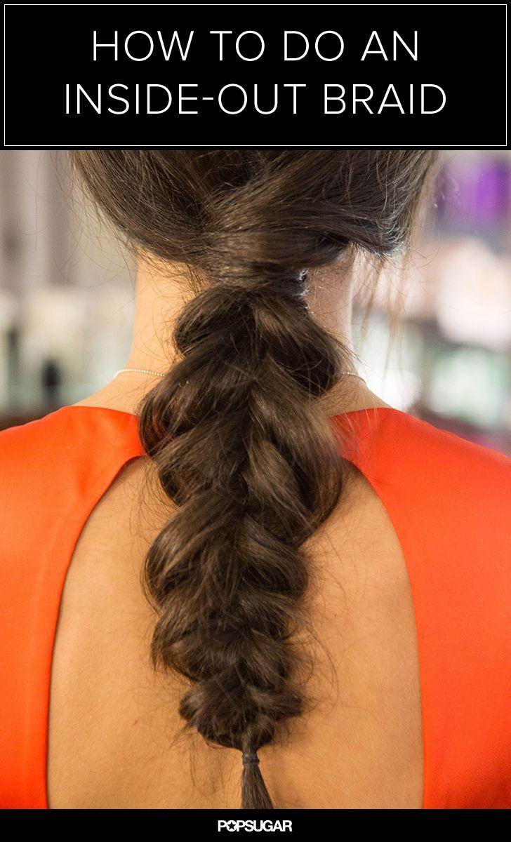 Get the Inside-Out Braid Right Off the Mara Hoffman Runway   hair   Pinterest   Hair, Braids and Hair styles