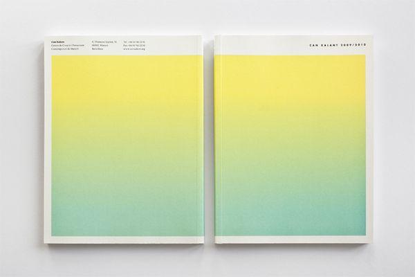 Annual Report for Can Xalant on Behance