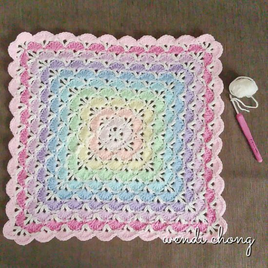 Crochet Baby Blanket Patterns Easy Free : Best 25+ Crochet shell stitch ideas on Pinterest