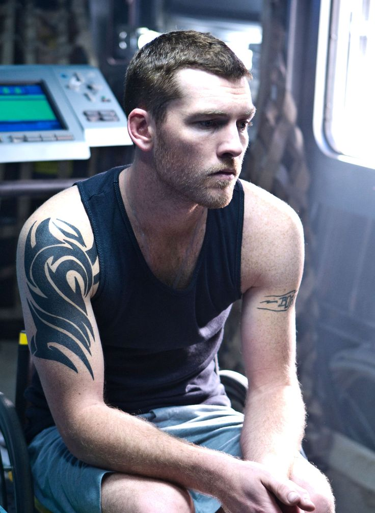 "Sam Worthington as ""Jake Sully"" in Avatar"