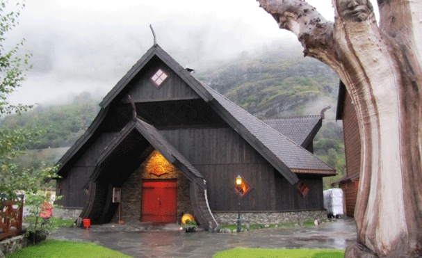 The Egir Bryggeri- a Viking inspired pub and brewery in Flam Norway