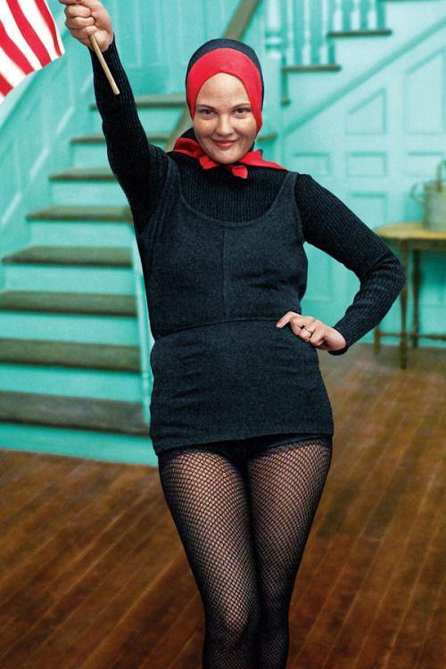 Drew Barrymore In Grey Gardens 2009 Little Edie Beale Of