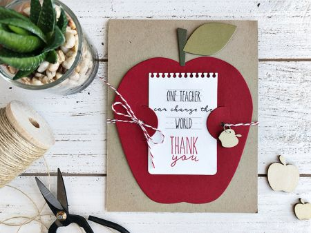 Thank you Card by Heather Nichols for Papertrey Ink (March 2018)