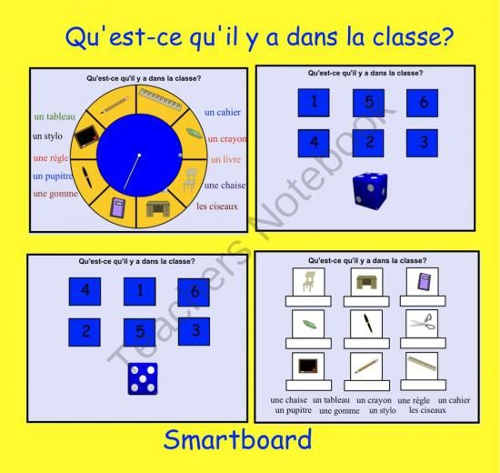 4 Lécole activities for the Smartboard from Teaching The Smart Way on TeachersNotebook.com (4 pages)