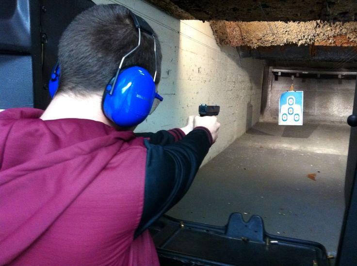 Pistol range. Florida