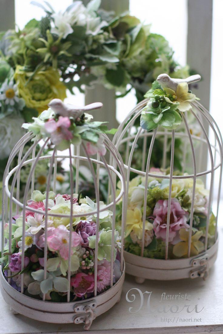 鳥かごのリングピロー Bird Cage Ringpillow