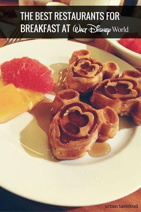 Best Restaurants at Disney World for Breakfast