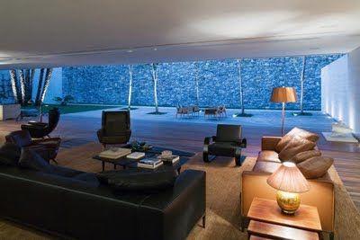 Decoración Minimalista y Contemporánea: Salas contemporáneas y minimalistas