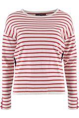 Sanne - gestreepte trui met zijstreep