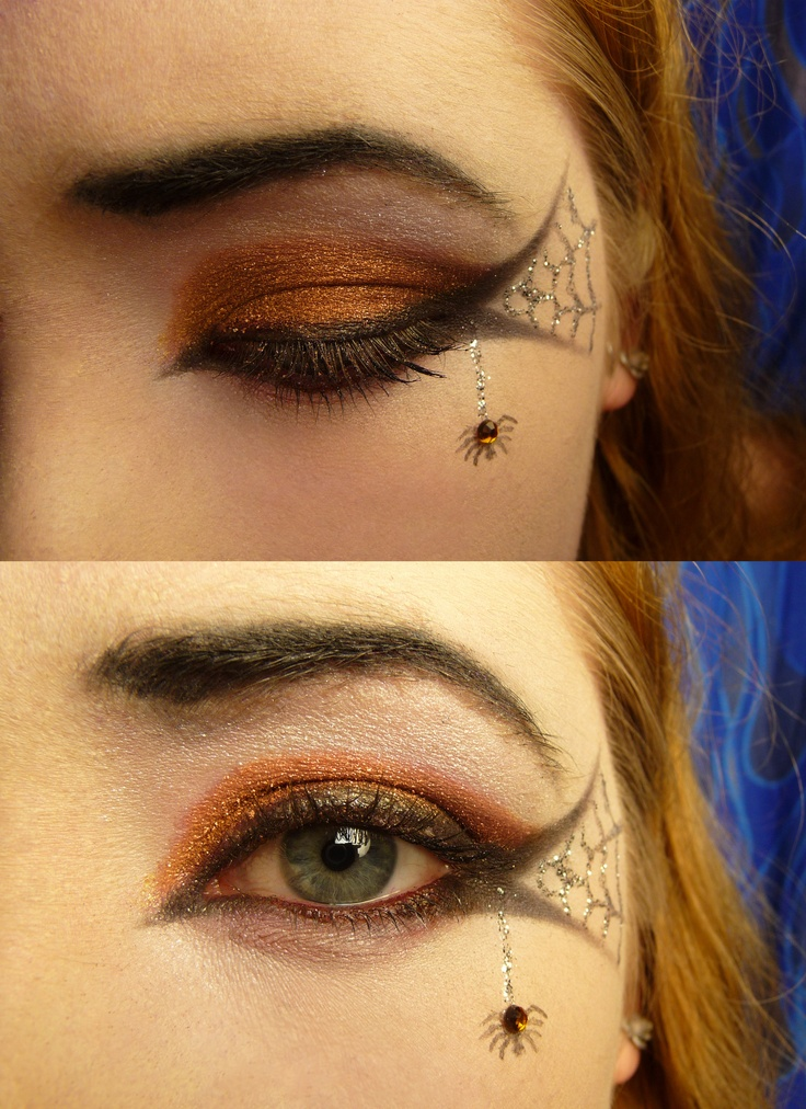 The 7 best images about Halloween Make-up on Pinterest | The ...