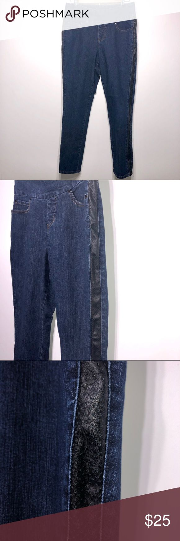 Jag Jeans Pull-On Tummy Control Size 10 Excellent …