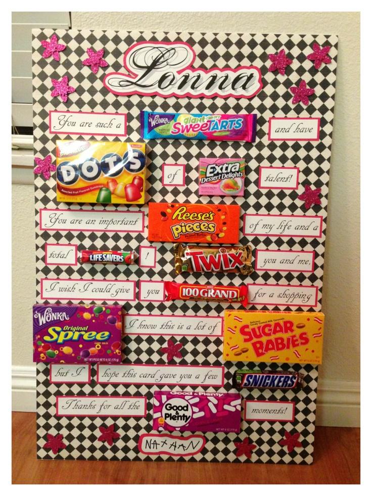 Teacher Appreciation candy card. | School Daze | Pinterest | Candy ...