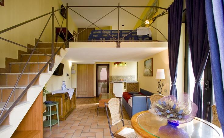 "Hotel Villa Medici Naples, Open space room ""Baia"""