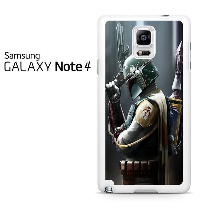 Boba Fett Actor Star Wars Samsung Galaxy Note 4 Case