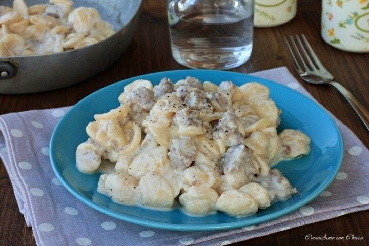 Orecchiette con salsiccia cremose senza panna