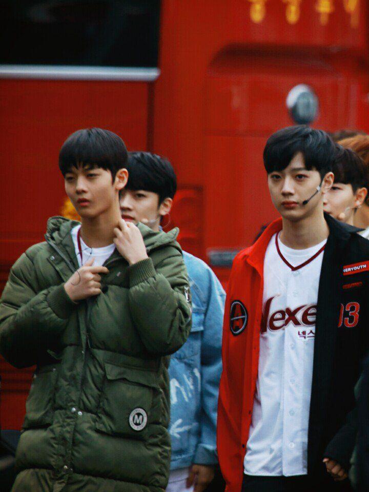 Guanlin and Jinyoung(?)
