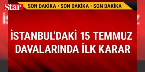 İstanbul Valiliğini işgal girişimi davasında karar verildi: 1234487 - İstanbul 24. Ağır Ceza Mahkemesindeki duruşmada, tutuklu sanık Yusuf Yıldız ve sanık avukatları ile TBMM ve Başbakanlık avukatları katıldı. Duruşmada TBMM adına katılma talebinde bulunan avukat Faik Işık, darbe girişimi sırasında meclisin de bombalandığını anlatarak, sanığa sadece anayasa düzen değiştirmeye teşebbüs etmek suçundan değil, TCK'nın 311. maddesinde yer alan  Cebir ve şiddet kullanarak Türkiye Büyük Millet…