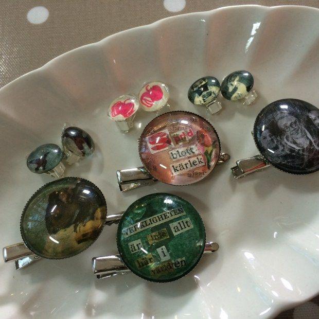 Smycken. DIY Jeweleys. Translate from Swedeish.