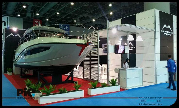 Boat Show Fuarı ''MOMENTA'' Stand Uygulamamız