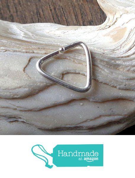 Triangle Cartilage Piercing Minimal Hoop https://www.amazon.com/dp/B075Z4C4FP/ref=hnd_sw_r_pi_dp_jU5YzbY39CKV9 #handmadeatamazon