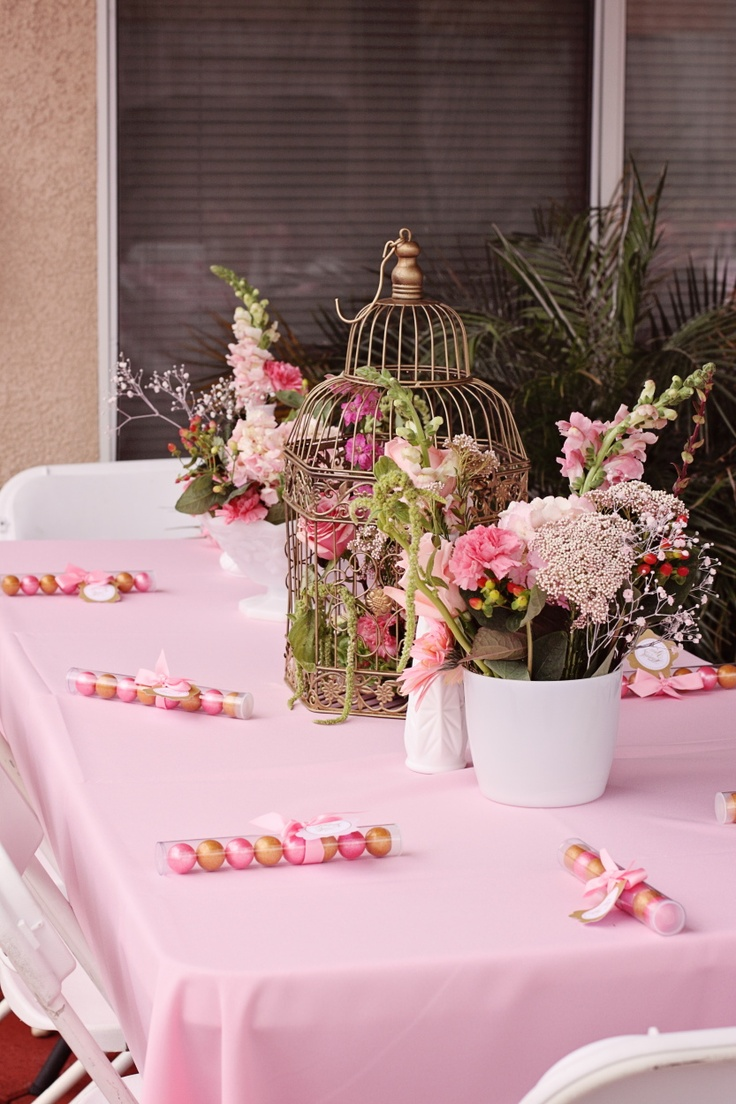 The gallery for gt elegant baby shower table decorations