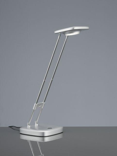 NADIR - pracovná LED lampa dotyková - 3W - titánový plast