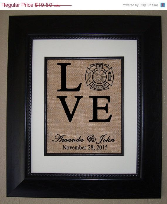 Hey, I found this really awesome Etsy listing at https://www.etsy.com/listing/226427411/25-off-sale-personalized-love-fireman