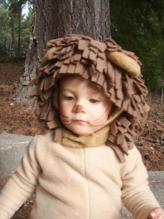 LOVE!!! Lion Halloween Costume for Boys or Girls by BooBahBlue on Etsy, $78.00