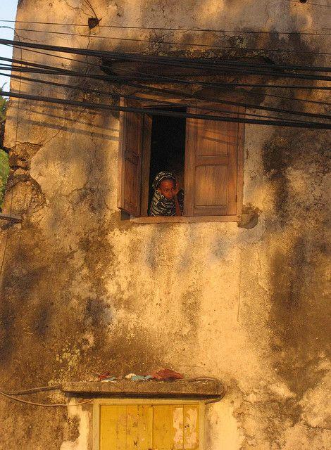 At the window . Comoros Islands •   laparisienneavelo