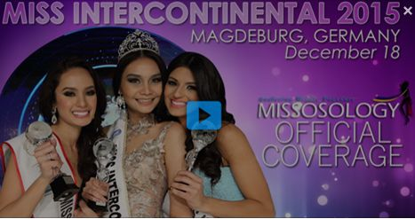 The Miss Intercontinental 2015, the 44th edition of Miss Intercontinental pageant, will crown the winner on December 18, 2015 (December 19 Manila time) at the Grand Ballroom in the Maritim Congress Hotel in Magdeburg, Germany.