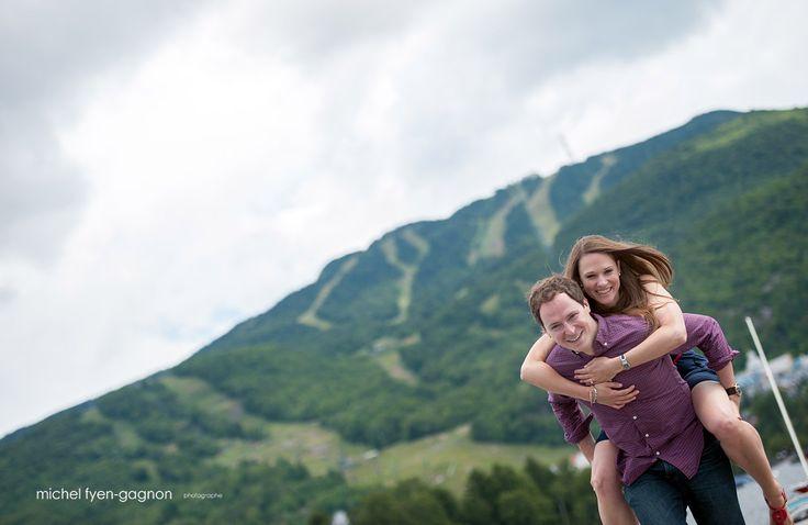 Engagement session at Mont-Tremblant ! www.photofyengagnon.com