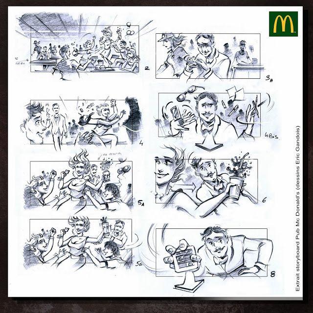 storyboard Mc Donald's
